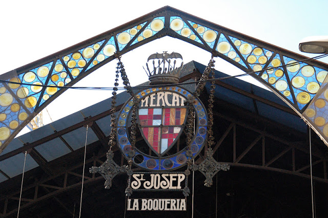Barcelone – La Boqueria graphic