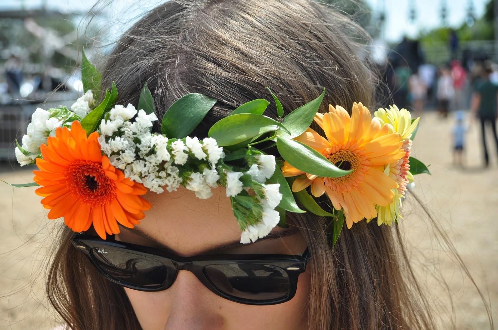 DIY – Couronne de fleurs graphic